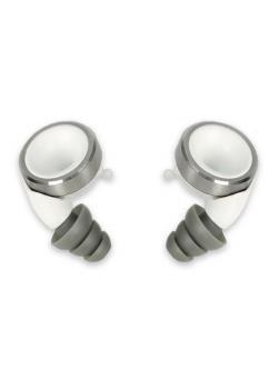 Knops Design Gehörschutz-white-Silber