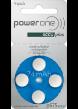 Power One Akku p675 (4 Stück)